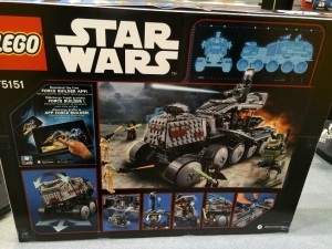 LEGO Star Wars 75151 Clone Turbo Tank NYTF 2016
