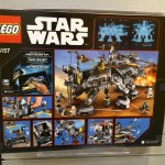 LEGO Star Wars 75157 Captain Rex's AT-TE NYTF 2016 Set Back Box