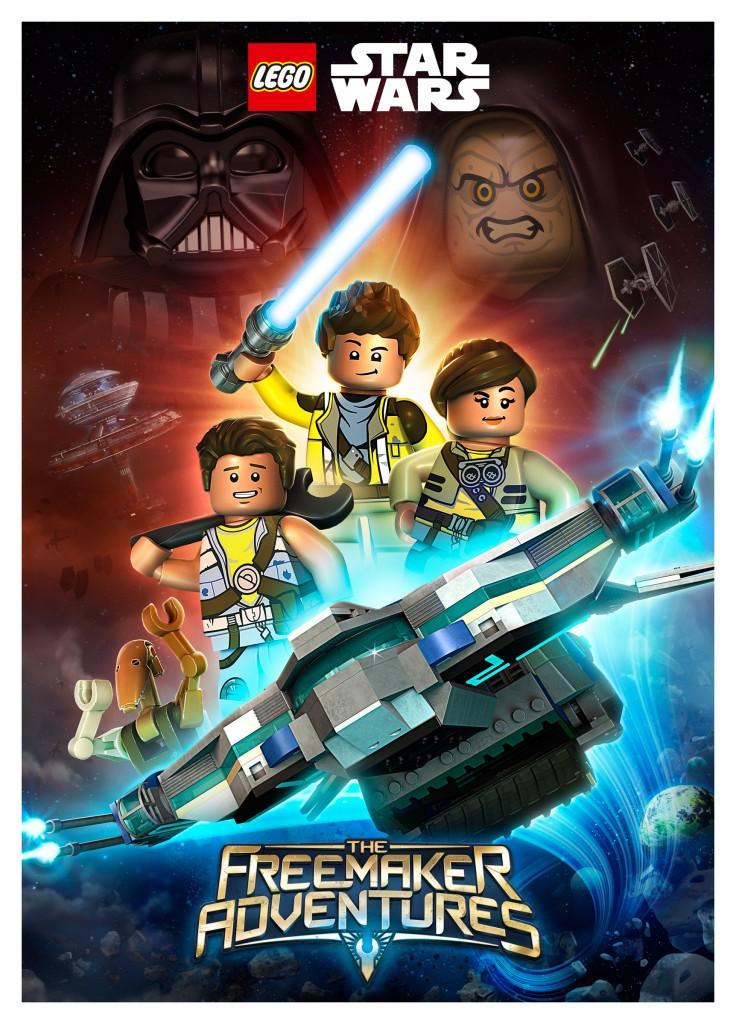 LEGO Star Wars The Freemaker Adventures Poster - Summer 2016