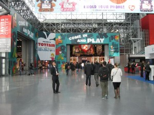 New York Toy Fair 2016 Entrance