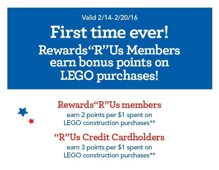 ToysRUs President Week Offer 2016 RewardsRUs