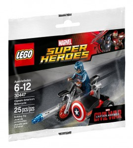 30447 LEGO Marvel Super Heroes Civil War Captain America's Motorcycle - Toysnbricks