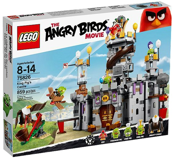 75826 LEGO Angry Birds Movie King Pig's Castle - Toysnbricks