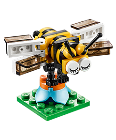 April 2016 LEGO Mini Monthly Model Build LEGO Bee - Toysnbricks