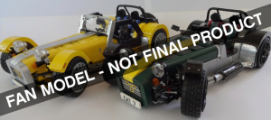Caterham Super Seven by Carl Greatrix LEGO Ideas Creation 2015 Second Review