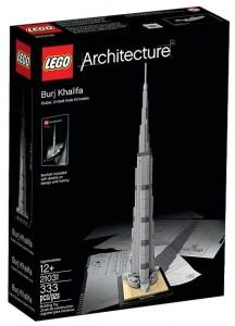 LEGO Architecture 21031 Burj Khalifa Box - Toysnbricks
