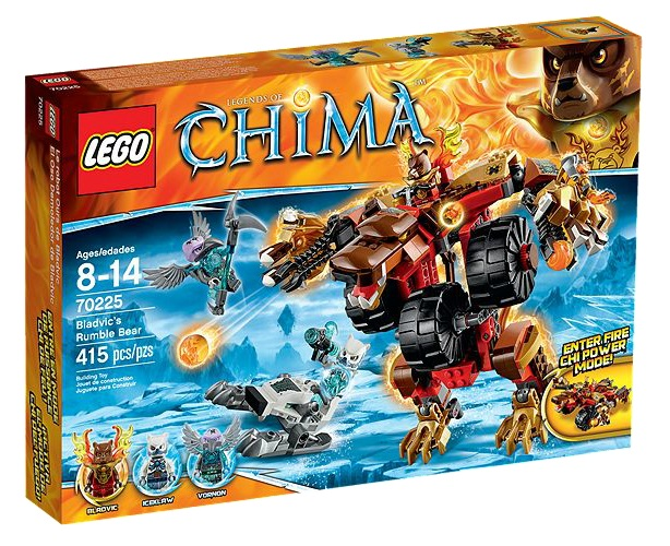 LEGO Chima 70225 Bladvic's Rumble Bear - Toysnbricks