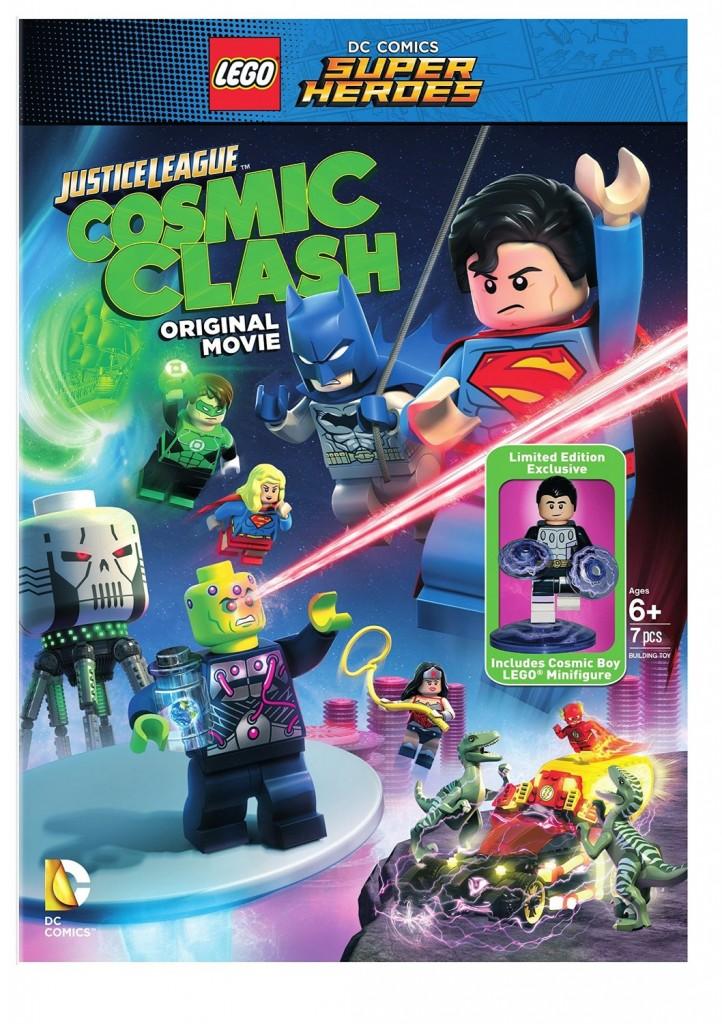 LEGO DC Super Heroes Justice League Cosmic Clash Movie & 30604 Cosmic Boy Minifigure - Toysnbricks