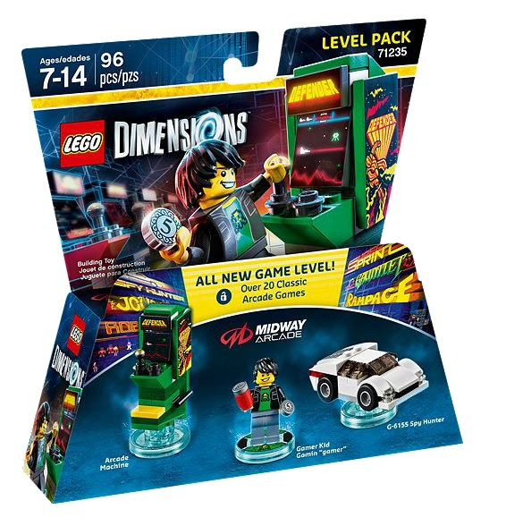 LEGO Dimensions 71235 Midway Arcade Level Pack - Toysnbricks