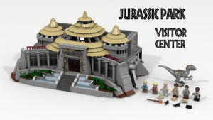 LEGO Ideas Jurassic Park Visitor Center by LDiEgo Potential LEGO Set