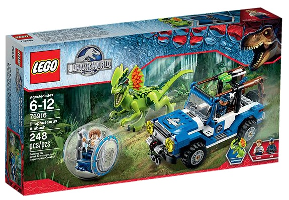 LEGO Jurassic World 75916 Dilophosaurus Ambush - Toysnbricks