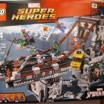 LEGO Marvel Super Heroes 76057 Spider-Man Web Warriors Ultimate Bridge Battle NYTF 2016 - Toysnbricks