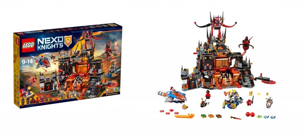 LEGO Nexo Knights 70323 Jestro's Volcano Lair - Toysnbricks
