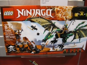 LEGO Ninjago 70593 The Green NRG Dragon NYTF 2016 - Toysnbricks