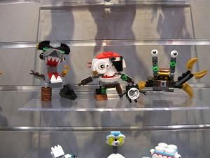 LEGO Series 8 Mixels 41566 Sharx, 41567 Skulzy, 41568 Lewt NYTF 2016 - Toysnbricks