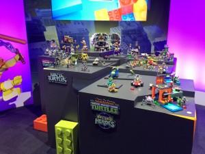Mattel Mega Bloks Teenage Mutant Ninja Turtles New York Toy Fair 2016 - Toysnbricks
