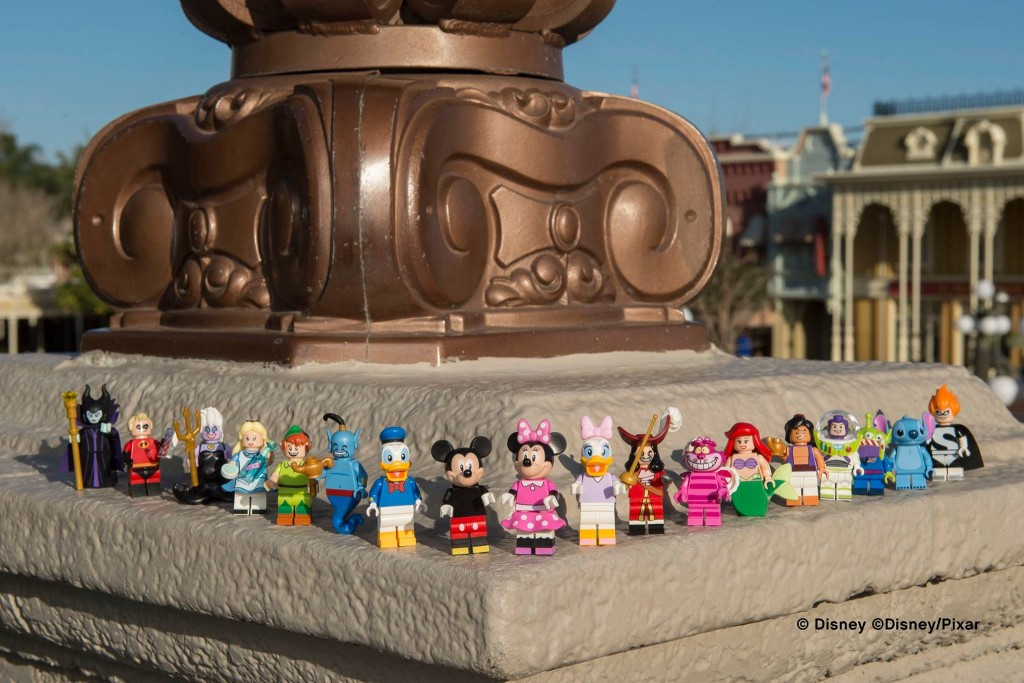 May 2016 Summer LEGO Disney Collectable Minifigures 71012