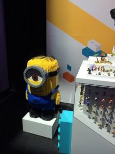 Mega Bloks Mattel Minion Model NYTF 2016 - Toysnbricks
