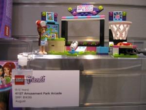 NYTF LEGO Friends 41127 Amusement Park Arcade 2016 - Toysnbricks