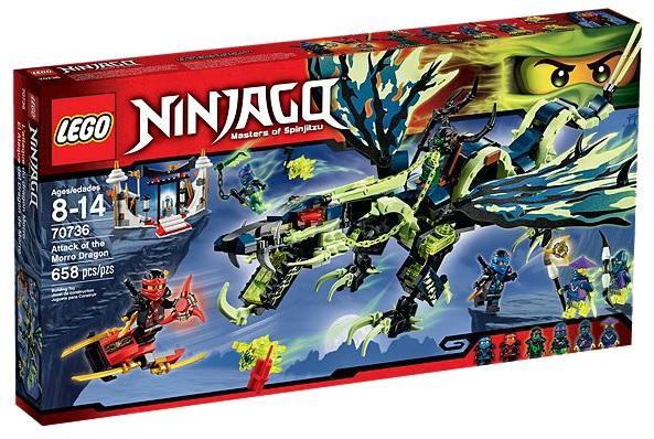 Ninjago 70736 LEGO Attack of the Morro Dragon - Toysnbricks