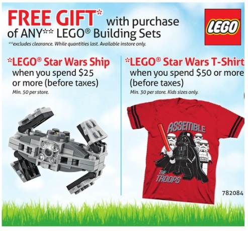 ToysRUs Canada LEGO Sale March 2016 - Toysnbricks
