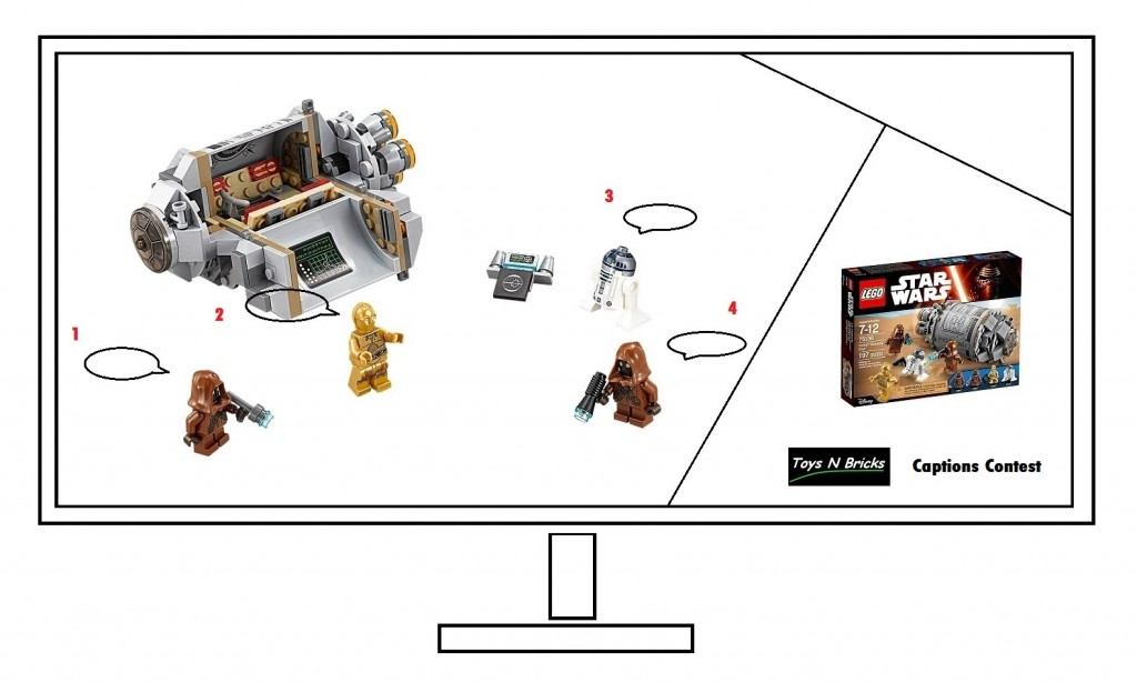 Toysnbricks Caption Contest March 2016 - LEGO Star Wars 75136 Droid Escape