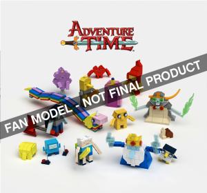 aBetterMonkey LEGO Ideas Creations Adventure Time Second 2015 LEGO Review
