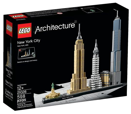 21028 LEGO Architecture New York City - Toysnbricks