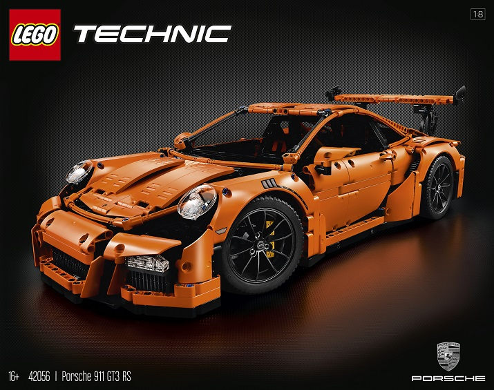 42056 Porsche 911 GT3 RS LEGO Technic D2C June 2016 - Toysnbricks