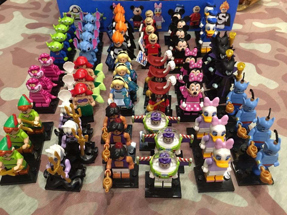 71012 Disney Collectable LEGO Series Minifigures (pre)