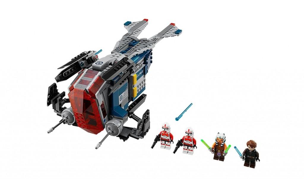 75046 LEGO Star Wars Coruscant Police Gunship - Toysnbricks