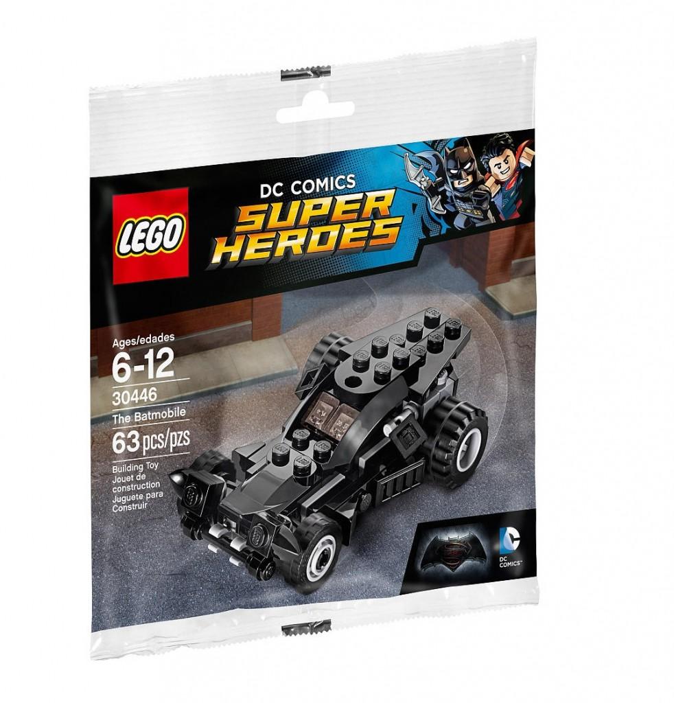 DC Comics LEGO Super Heroes 30446 Batmobile Polybag Set - Toysnbricks