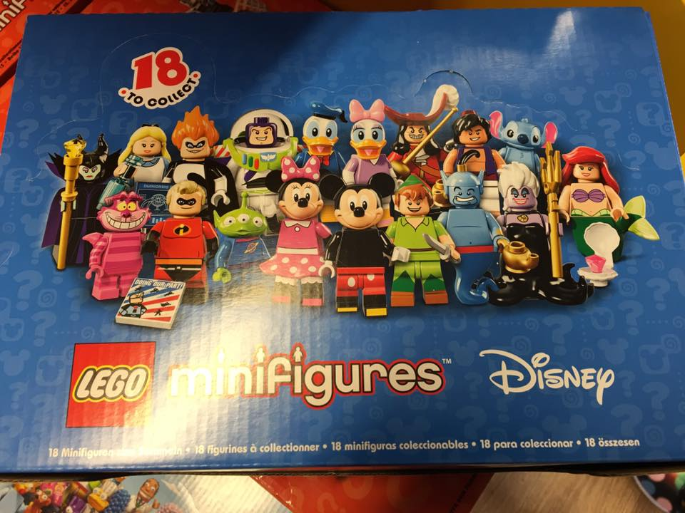 LEGO 71012 Disney Collectable Series Minifigures Full Box (pre)