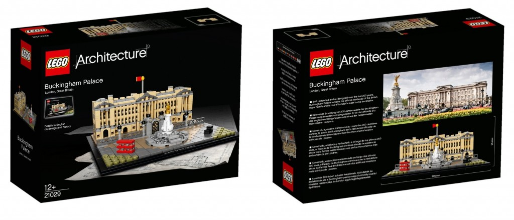LEGO Architecture 21029 Architecture Buckingham Palace Box - Toysnbricks