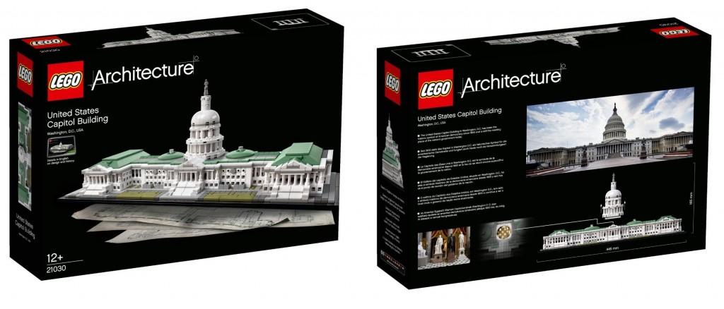 LEGO Architecture 21030 Architecture United States Capitol Box - Toysnbricks
