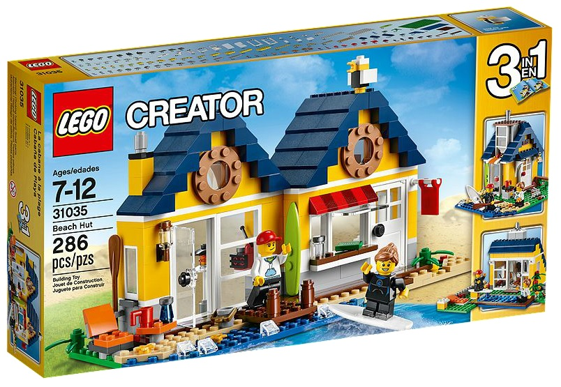 LEGO Creator 31035 Beach Hut - Toysnbricks