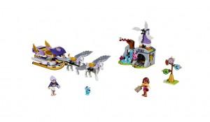LEGO Elves 41077 Aira's Pegasus Sleigh - Toysnbricks