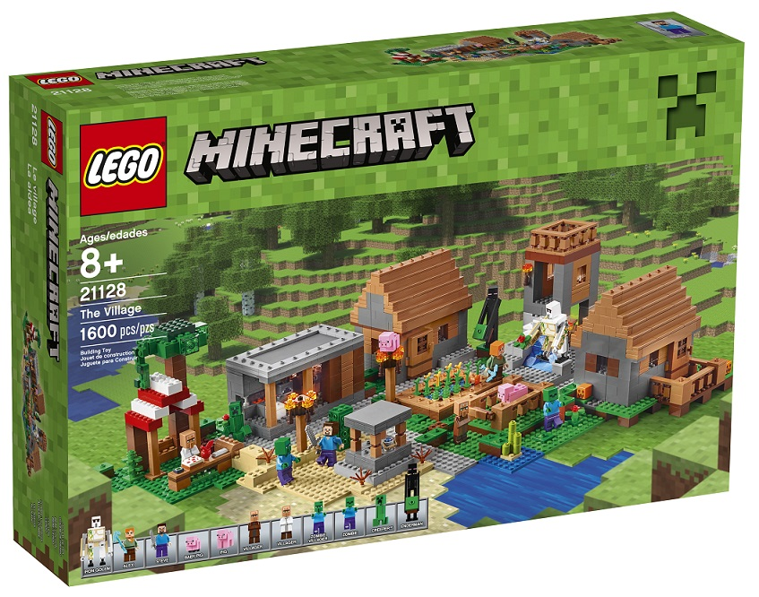 LEGO Minecraft 21128 The Village - June 2016 Toysnbricks