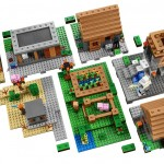 LEGO Minecraft 21128 The Village Set Details - Toysnbricks