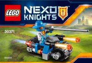 LEGO Nexo Knights 30371 Knight's Cycle Polybag Set - Toysnbricks