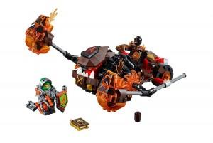 LEGO Nexo Knights 70313 Moltor's Lava Smasher - Toysnbricks