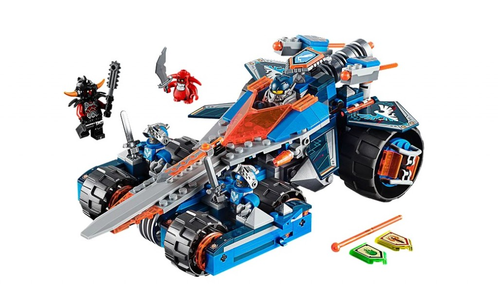 LEGO Nexo Knights 70315 Clay's Rumble Blade - Toysnbricks