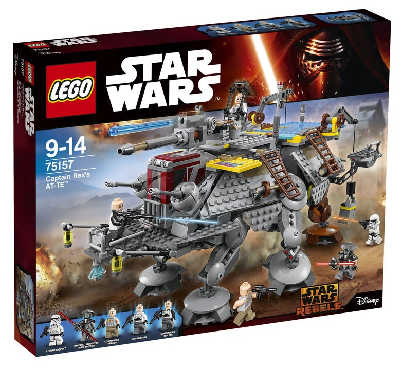LEGO Star Wars 75157 Captain Rex's AT-TE Summer 2016 Set Box