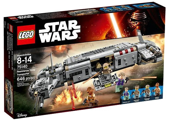 LEGO Star Wars Resistance Troop Transporter 75140 - Toysnbricks