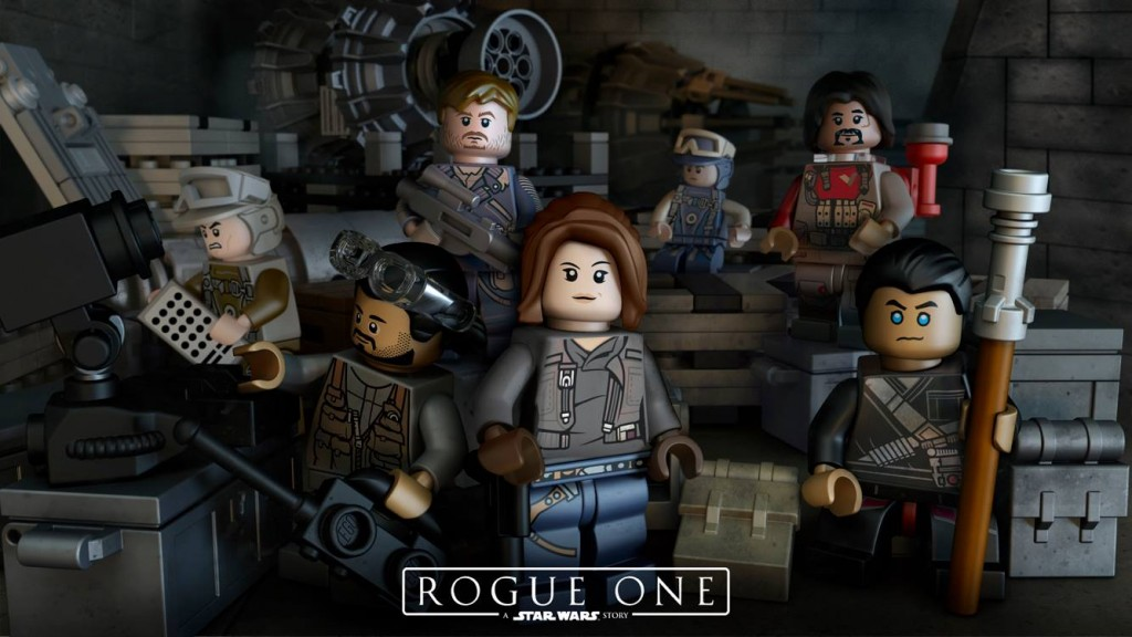 LEGO Star Wars Story Rogue One Minifigures - Movie Release December 2016