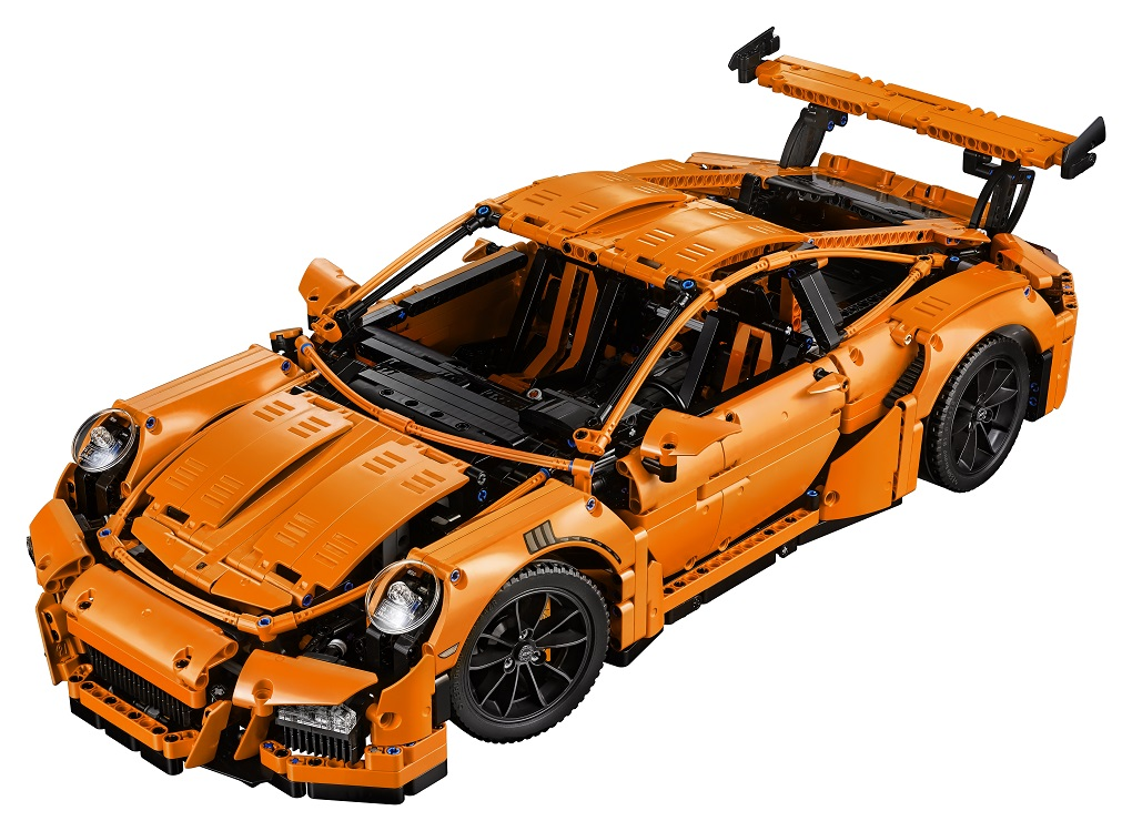 LEGO Technic 42056 Porsche 911 GT3 RS Production Image High Resolution - Toysnbricks