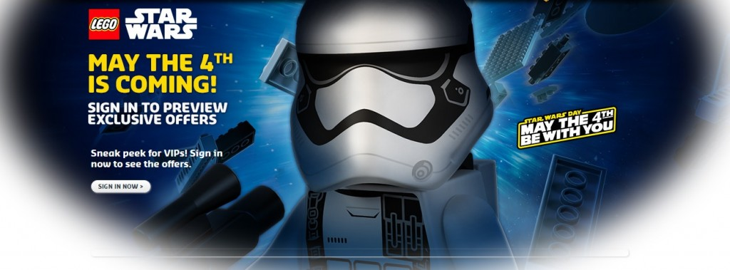 Star Wars May the 4th be with you 2016 LEGO Star Wars Days - Toysnbricks