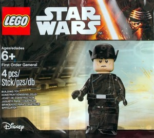 5004406 First Order General LEGO Star Wars The Force Awakens Minifigure