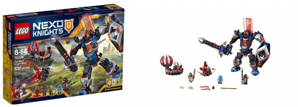 70326 LEGO Nexo Knights The Black Knight Mech