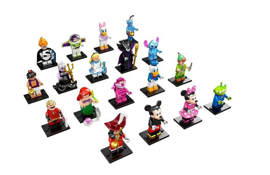 71012 The Disney Series LEGO Minifigures - Toysnbricks